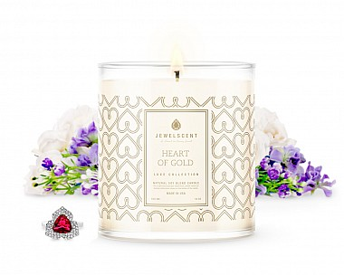 Heart of Gold Jewelry Luxe Candle