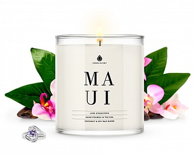 Maui Jewelry Luxe Candle