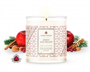 Merry & Bright Jewelry Luxe Candle
