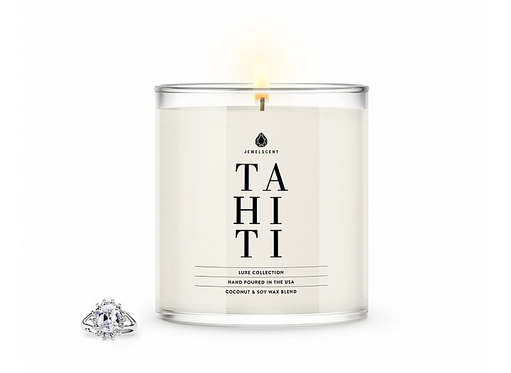 Tahiti Jewelry Luxe Candle