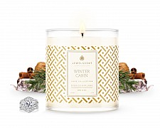 Luxe Winter Cabin Jewelry Candle