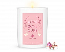 Hope, Love, Cure Home Jewelry 18oz Ring Candle