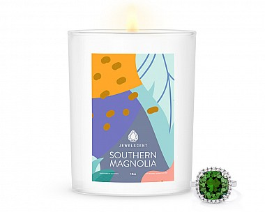 Southern Magnolia Home Jewelry 18oz Ring Candle