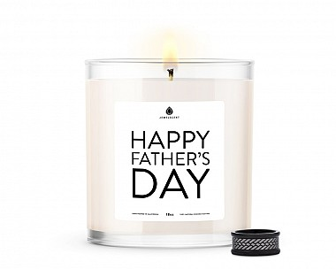 Happy Father's Day Men's Jewelry Candle