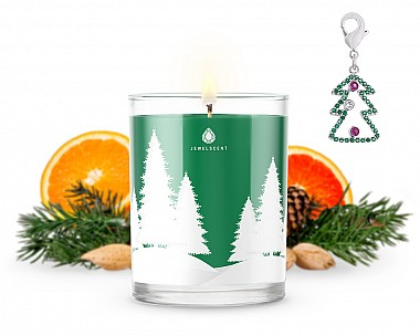 Signature Snowfall Tree Charm Candle