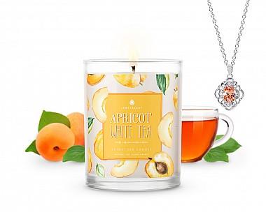 Signature Apricot White Tea Jewelry Candle