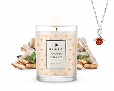 Signature Bonfire Embrace Jewelry Candle