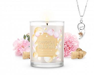 Signature Champagne Blush Jewelry Candle