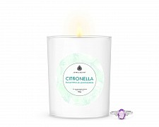 Citronella Eucalyptus & Lemongrass Signature Jewelry 10oz Ring Candle