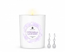 Citronella Lavender Signature Jewelry 10oz Earrings Candle