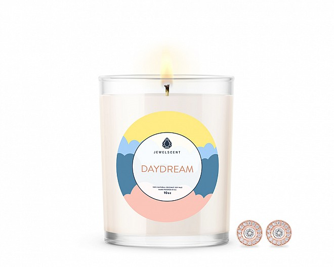 Daydream Signature Jewelry 10oz Earrings Candle