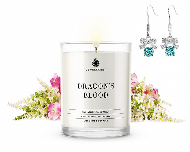Signature Dragon's Blood Candle