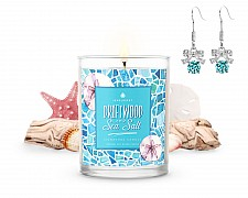 Signature Driftwood & Sea Salt Jewelry Candle