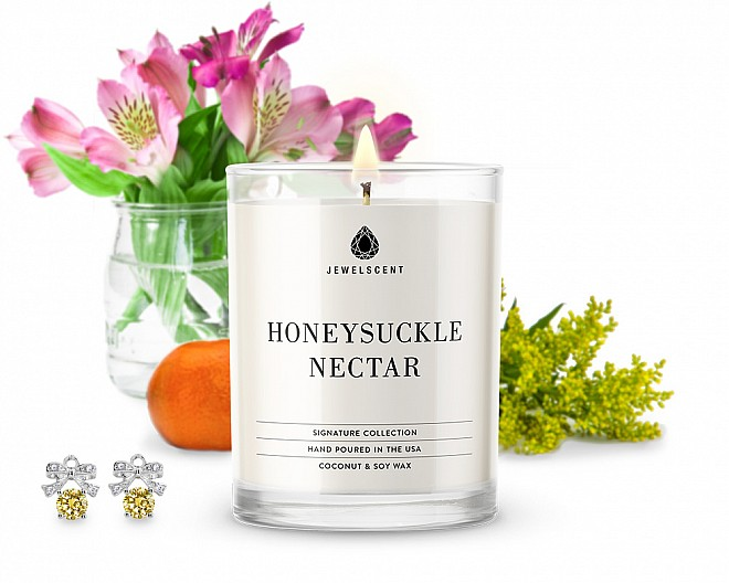 Signature Honeysuckle Nectar Jewelry Candle