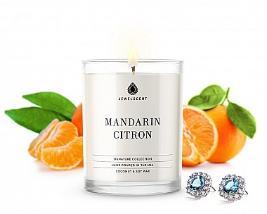Signature Mandarin Citron Jewelry Candle
