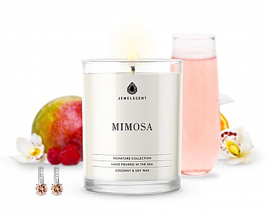 Signature Mimosa Jewelry Candle
