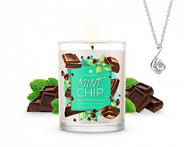 Signature Mint Chip Jewelry Candle