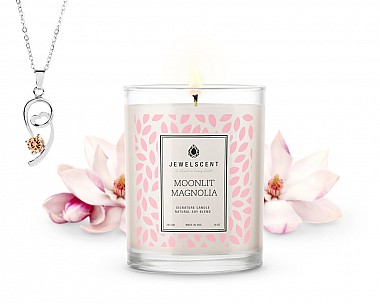 Signature Moonlit Magnolia Jewelry Candle