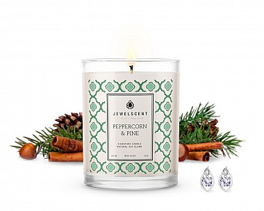 Signature Peppercorn & Pine Jewelry Candle