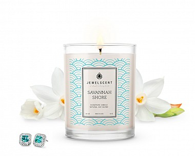 Signature Savannah Shore Jewelry Candle