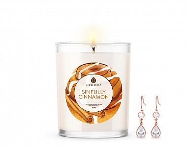 Sinfully Cinnamon Signature Jewelry 10oz Candle