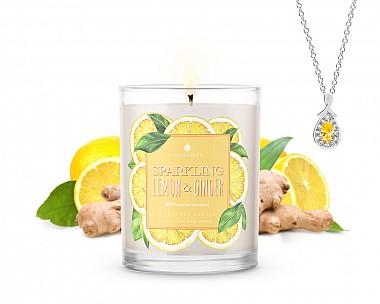 Signature Sparkling Lemon & Ginger Jewelry Candle