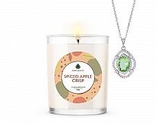Spiced Apple Crisp Signature Jewelry 10oz Necklace Candle