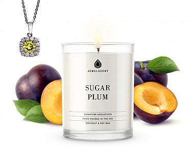 Signature Sugar Plum Jewelry Candle
