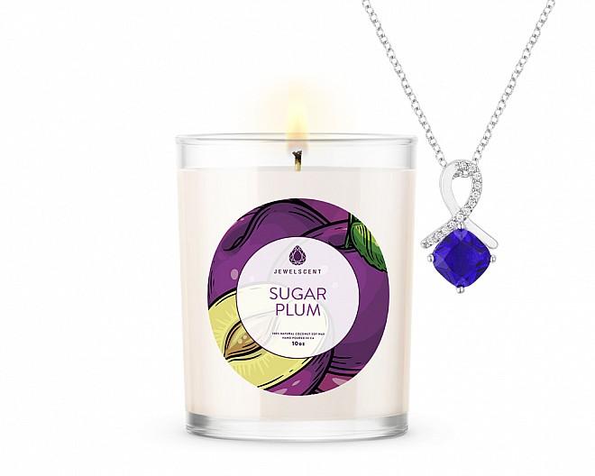 Sugar Plum Signature Jewelry 10oz Candle