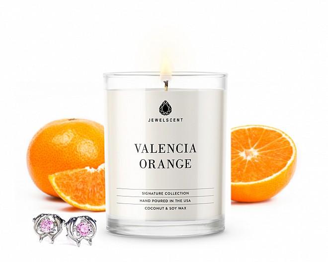 Signature Valencia Orange Jewelry Candle