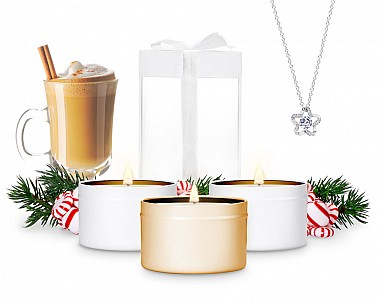 2019 Friendsmas Trio 3-Tin Jewelry Gift Set