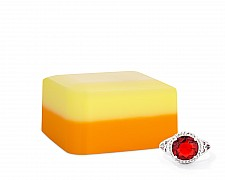 Autumn Delight Shea Butter Jewelry Ring Soap Bar