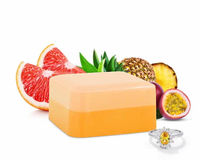 Bahama Mama Shea Butter Jewelry Soap Bar