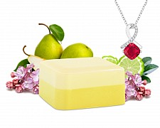 Prickly Pear Shea Butter Jewelry Soap Bar