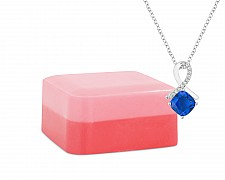 Raspberry Sorbet Shea Butter Jewelry Necklace Soap Bar