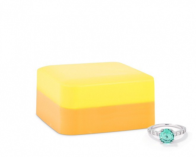 Ray of Sunshine Shea Butter Jewelry Ring Soap Bar