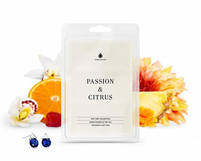 Passion & Citrus Jewelry Wax Tarts