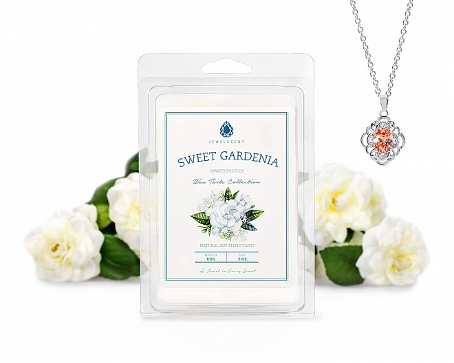 Sweet Gardenia Jewelry Wax Tarts