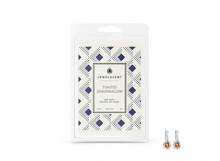 Toasted Marshmallow Jewelry Wax Tarts