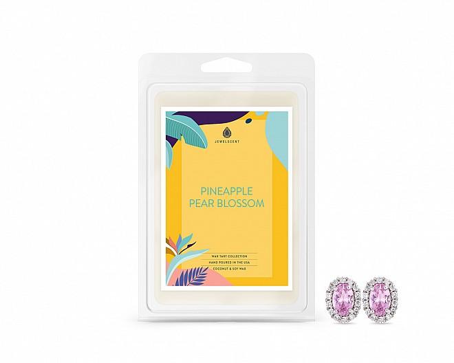 Pineapple Pear Blossom Jewelry Earrings Wax Tarts