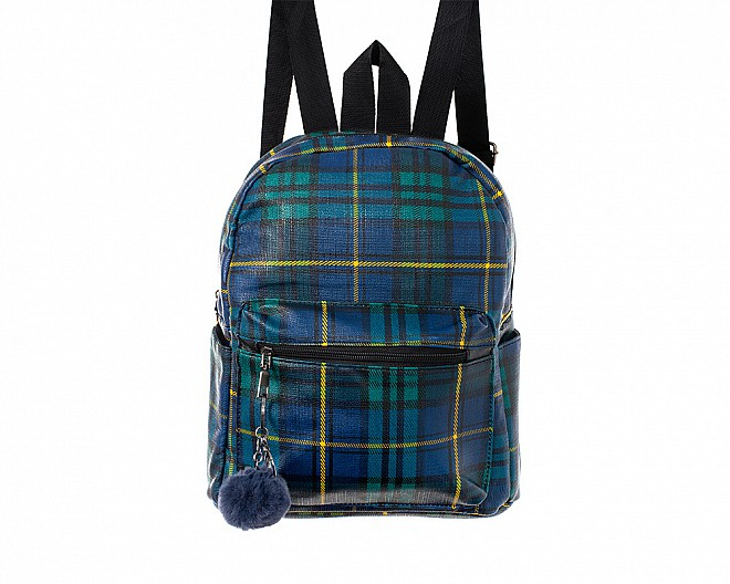 The Scotty Faux Leather Backpack