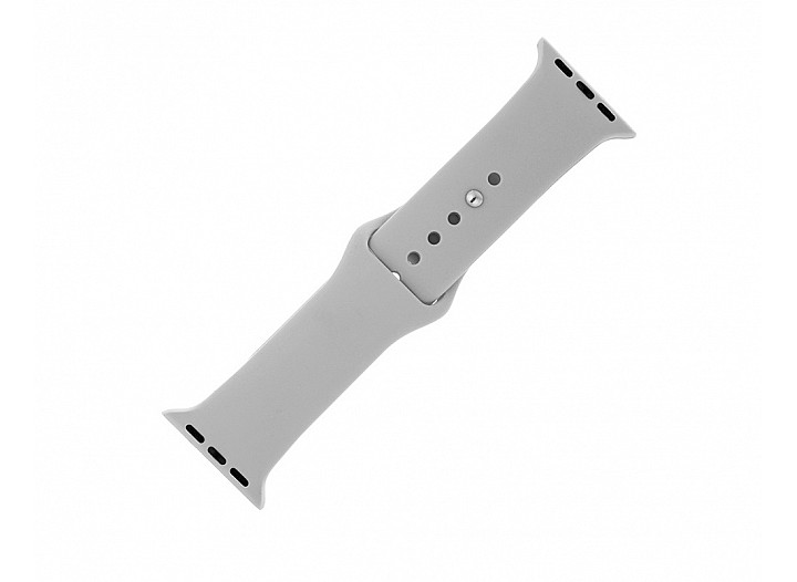 Light Grey Silicone Apple Watch Band