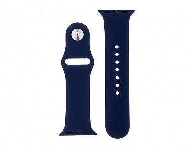Navy Blue Silicone Apple Watch Band