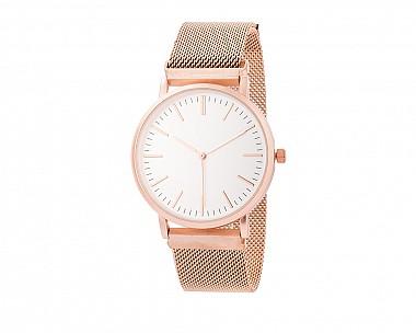 Rose Magnetic Mesh Watch