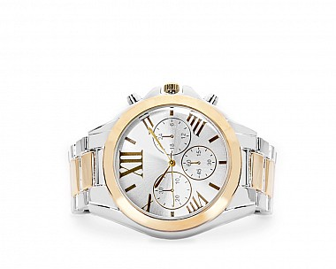Sadie Classic Two-Tone Chronograph Inspired Watch