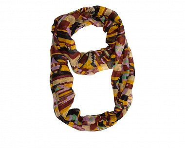Mary Multi Infinity Scarf in Black