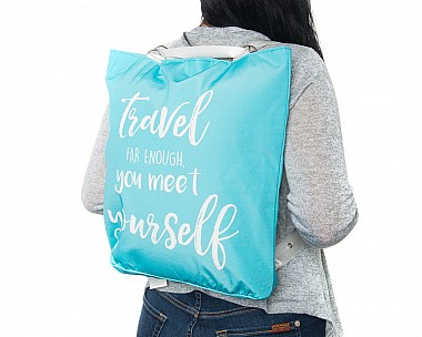 Lightweight Mint Convertible Backpack - Meet Yourself