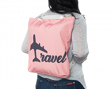 Lightweight Rose Convertible Backpack - Travel
