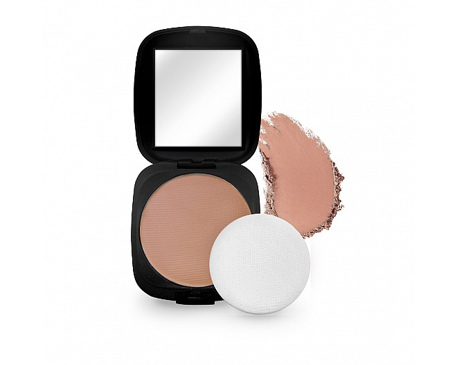 Deep Beige Pressed Powder