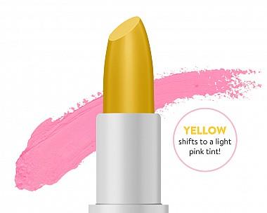 Many Moods Yellow Lipstick